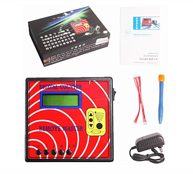 Digital Counter Remote Master Copier Transponder Programme Digital Counter Remote Master Key Programmer
